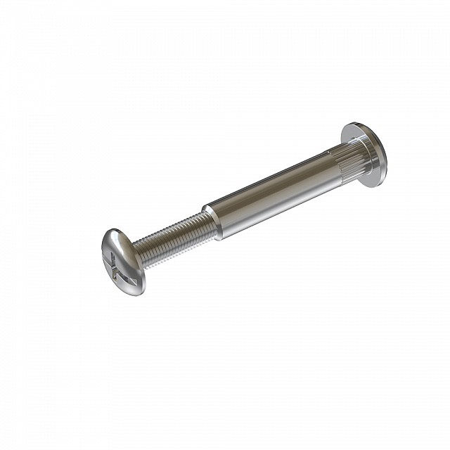 FURNITURE CONNECTOR M6 56-65mm / NICKEL